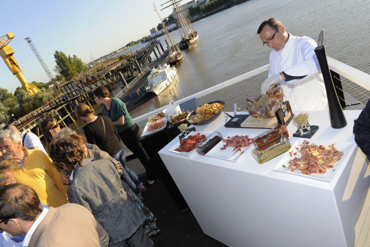 Vue sur Loire | Terrasses et animation culinaire