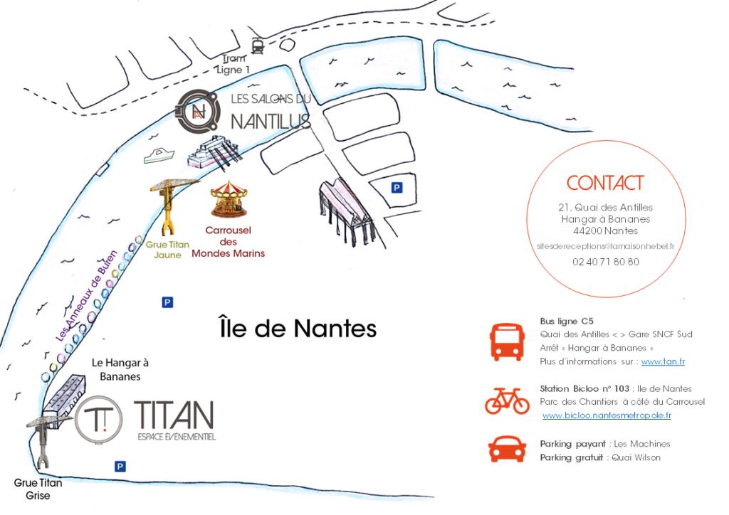 Accès et contact TITAN
